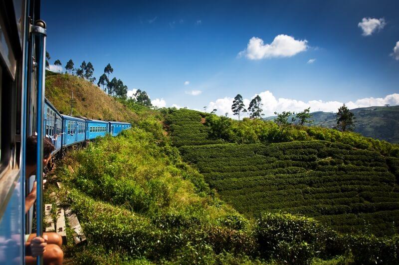 Rondreis Sri Lanka met trein